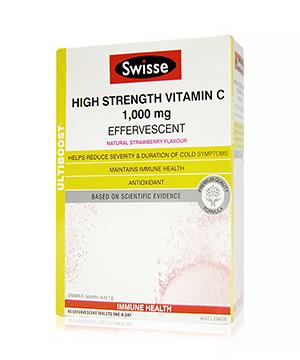 Swisse 高含量维生素C 泡腾片 60片